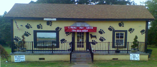 4 paws pet salon and boarding kennel in mooresville dog for 4 paws grooming salon